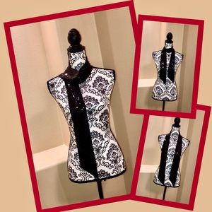 Accessories - Black Sequins Scarf